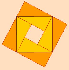 Four Right Angle Triangles