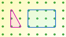 This feature brings together activities which make use of a geoboard or pegboard.
