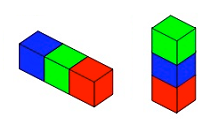 This feature brings together tasks which make use of interlocking cubes.