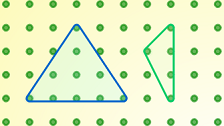 This lower primary feature brings together activities which make use of geoboards.