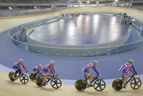 London 2012 Velodrome - Team GB. Image (c) ODA/Getty Images
