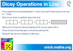 Dicey Operations in Line Poster icon
