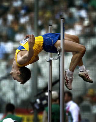 how to straddle high jump