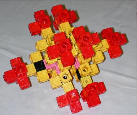arrangement of cubes