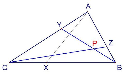 triangle labelled ready for vector reasoning