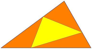 First inner triangle