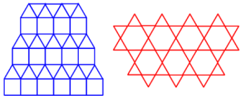 two semiregular tessellations