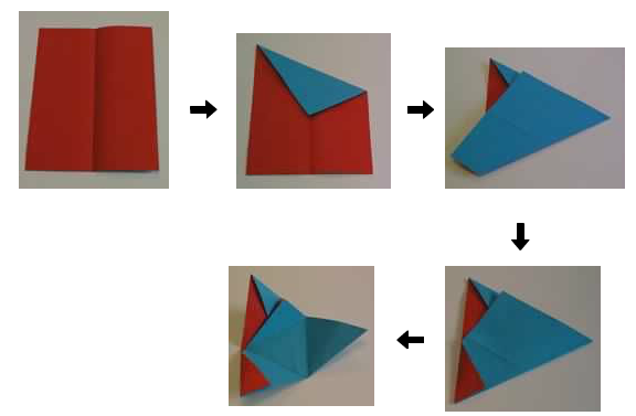 instructions for a tetrahedron