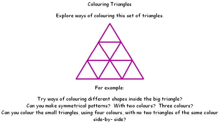 Colouring triangles