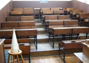 Galleried classroom