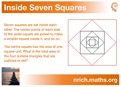 Inside Seven Squares Poster icon