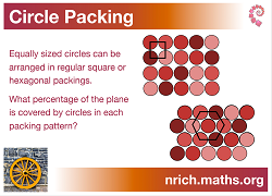 Circle Packing Poster icon