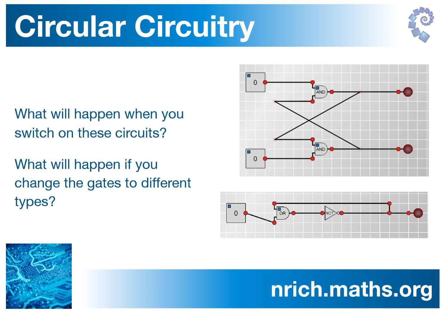 Circular Circuitry Poster : nrich.maths.org