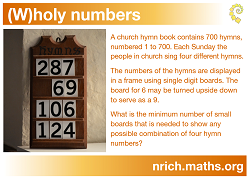 (w)holy Numbers Poster icon