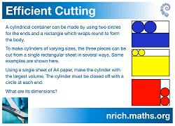 Efficient Cutting Poster icon