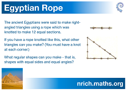 Egyptian Rope Poster icon