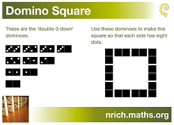 Domino Square Poster icon