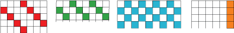 tops of different grids
