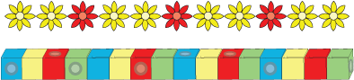 cube bricks and daisy chains fishing