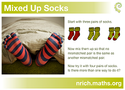 Mixed up Socks Poster icon