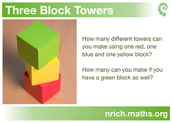 3 Block Towers Poster icon