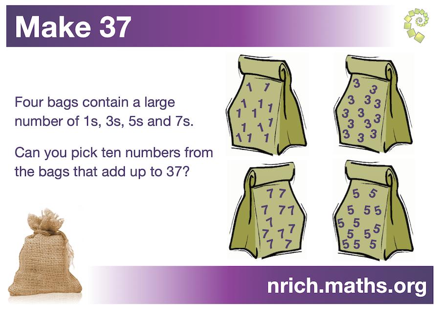 Make 37 Poster : nrich.maths.org