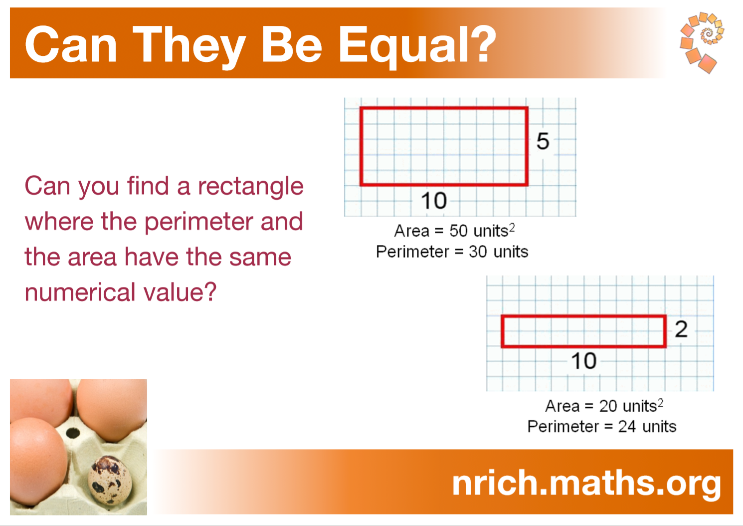 Can They Be Equal? Poster : nrich.maths.org