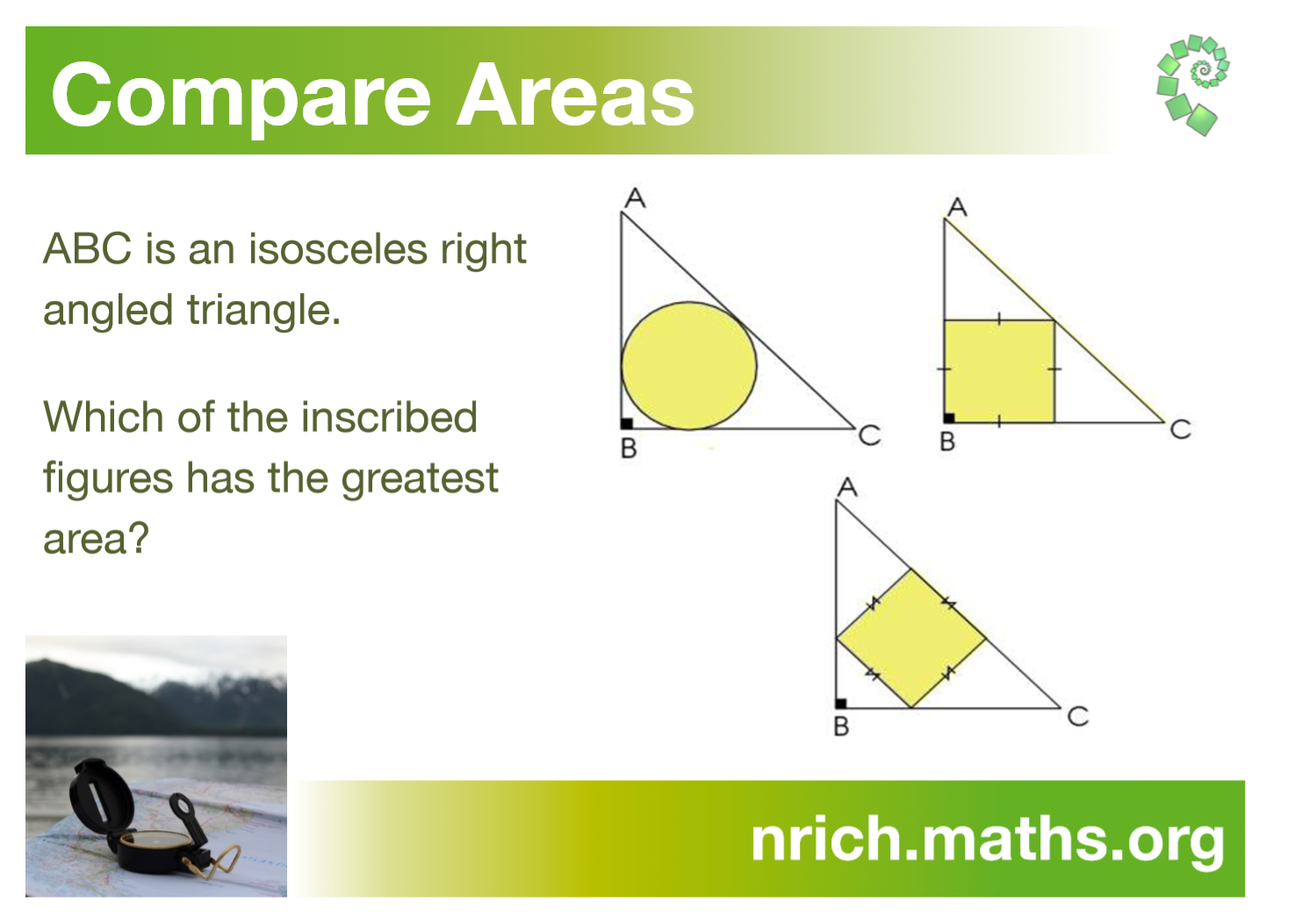 Compare Areas Poster : nrich.maths.org