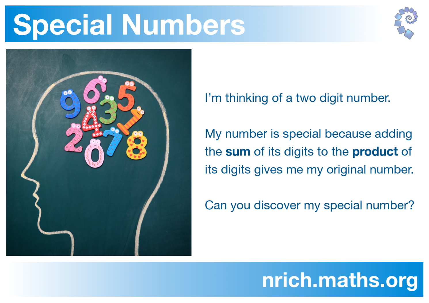 Special Numbers Poster : nrich.maths.org