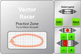 Vector Racer Game