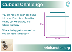 Cuboid Challenge Poster icon